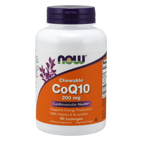 NOW FOODS -CoQ10 200 mg - 90 Lozenges