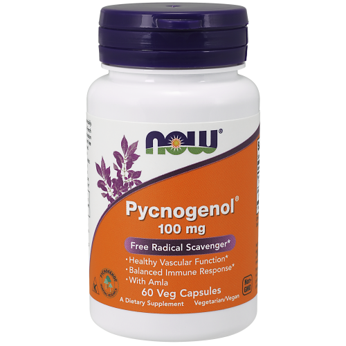 NOW FOODS -Pycnogenol® 100 mg - 60 Veg Capsules