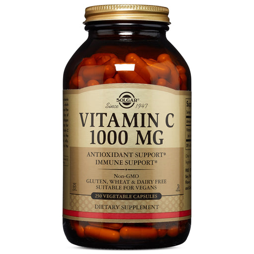Solgar- Vitamin C 1000 mg Vegetable Capsules- 250