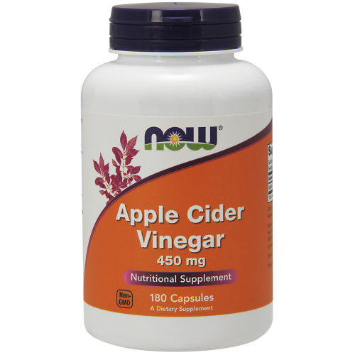 NOW FOODS -Apple Cider Vinegar 450 mg - 180 Capsules