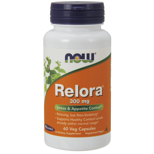NOW FOODS -Relora 300 mg - 60 Veg Capsules