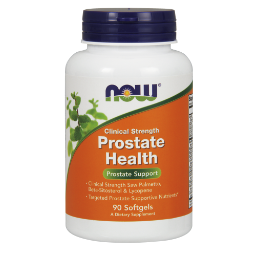 NOW FOODS -Prostate Health Clinical Strength - 90 Softgels