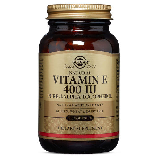 Solgar- Vitamin E 400 IU Alpha Softgels- 100