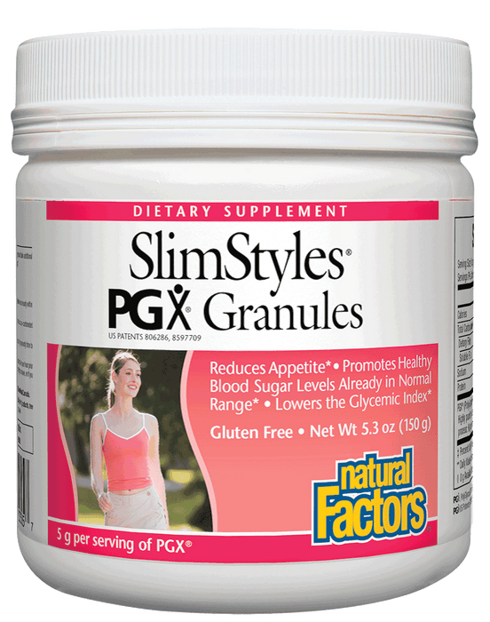 Natural Factors-SlimStyles® 100% Pure PGX® 5.3 OZ