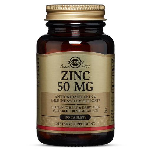 Solgar- Zinc 50 mg Tablets- 100