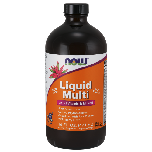 NOW FOODS -Liquid Multi Wild Berry - 16 fl. oz.