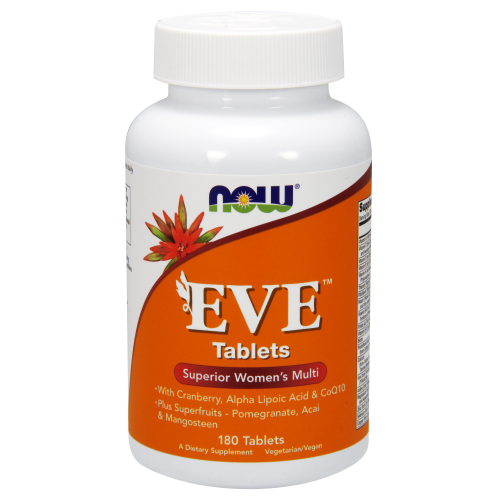 NOW FOODS -Eve™ Women's Multiple Vitamin - 180 Tablets