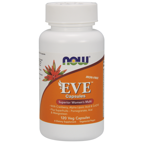 NOW FOODS -Eve™ Women's Multiple Vitamin - 120 Veg Capsules