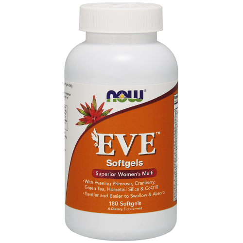 NOW FOODS -Eve™ Women's Multiple Vitamin - 180 Softgels