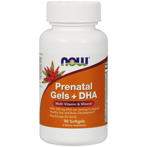 NOW FOODS -Prenatal Gels + DHA