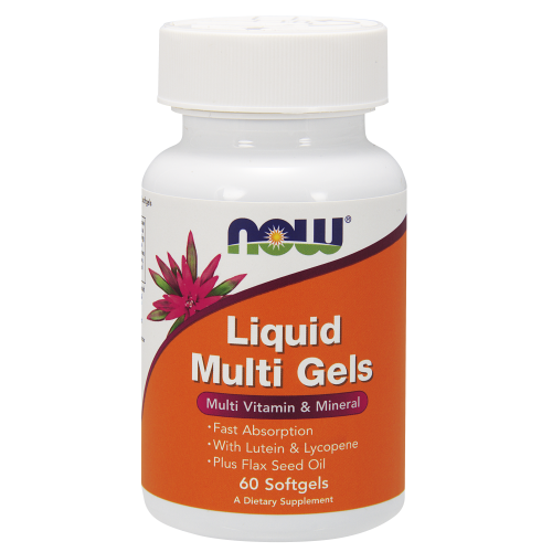 NOW FOODS -Liquid Multi Gels - 60 Softgels