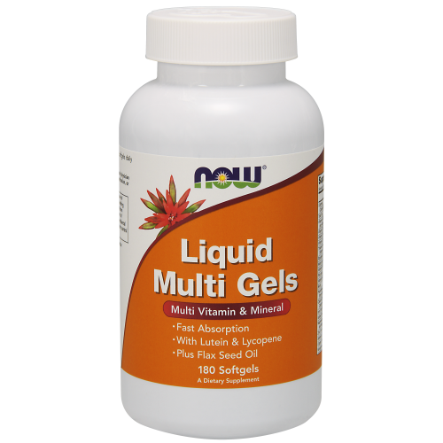 NOW FOODS -Liquid Multi Gels - 180 Softgels