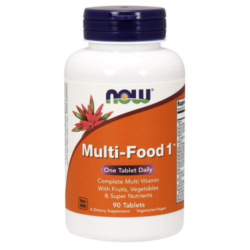 NOW FOODS -Multi-Food 1™ - 90 Tablets
