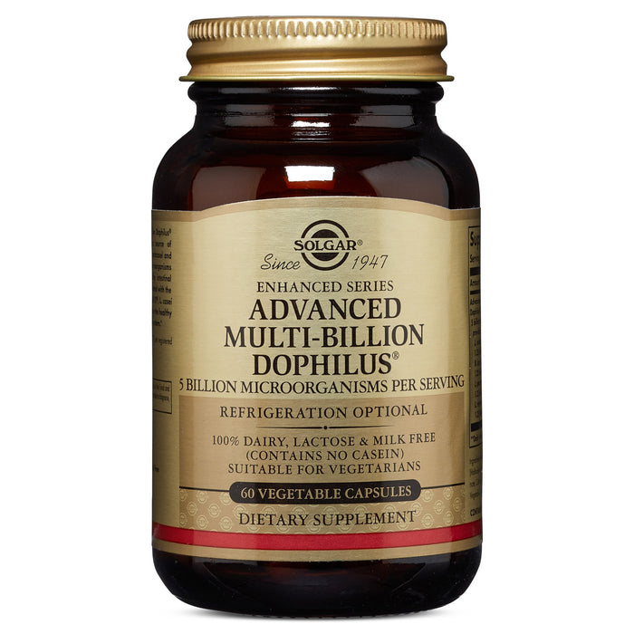 Solgar- Advanced Multi-Billion Dophilus® Vegetable Capsules- 60