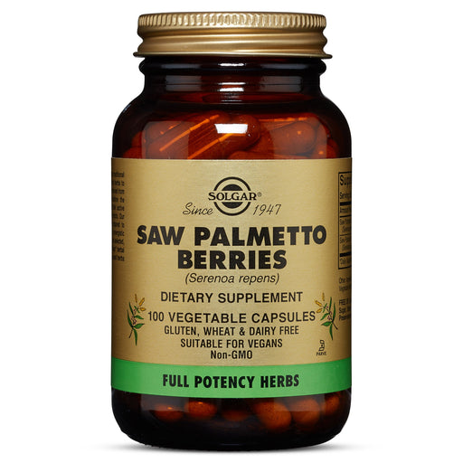 Solgar- FP Saw Palmetto Berries Vegetable Capsules- 100