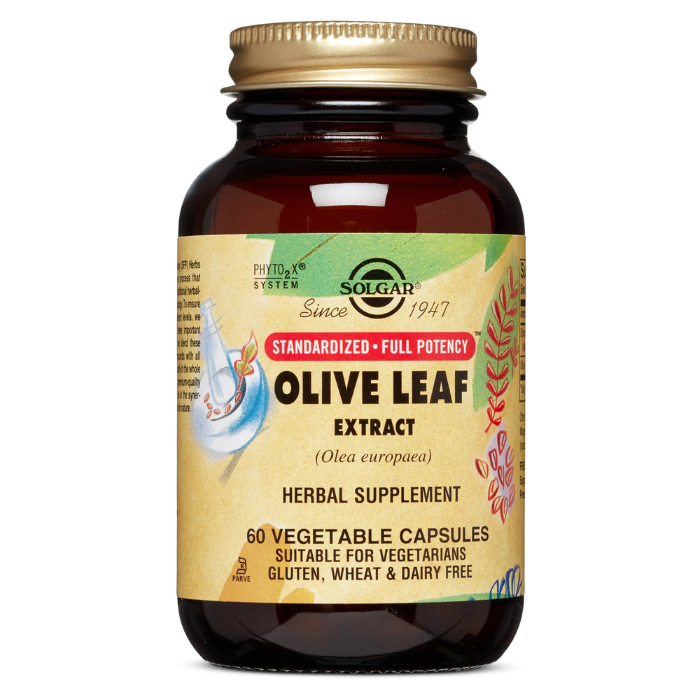 Solgar- SFP Olive Leaf Extract Vegetable Capsules- 60