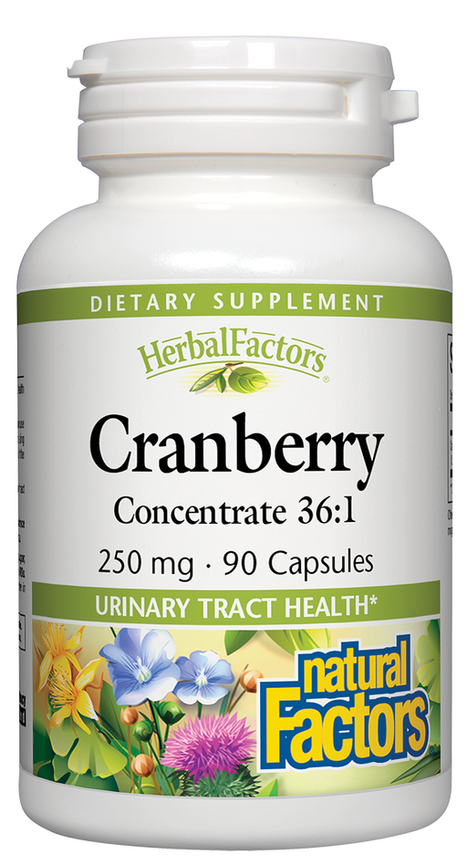 Natural Factors-Cranberry Concentrate 250 mg 90 CAP
