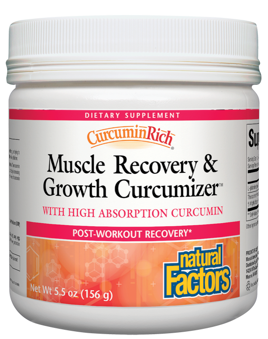 Natural Factors-CurcuminRich® Muscle Recovery & Growth Curcumizer 5.5 OZ