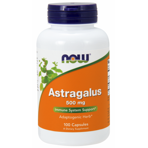 NOW FOODS -Astragalus 500 mg - 100 Veg Capsules