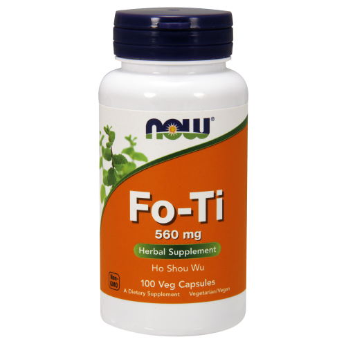 NOW FOODS -Fo-Ti 560 mg - 100 Capsules