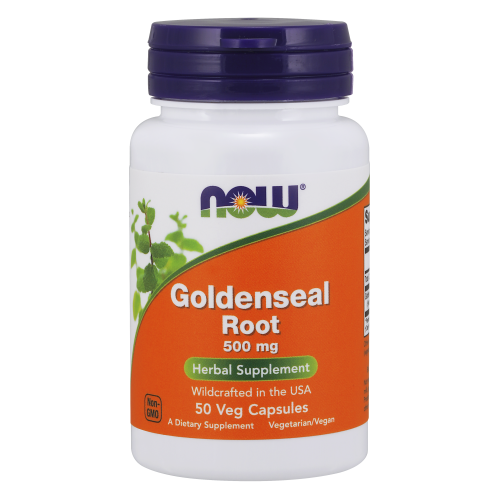 NOW FOODS -Goldenseal Root 500 mg - 50 Capsules