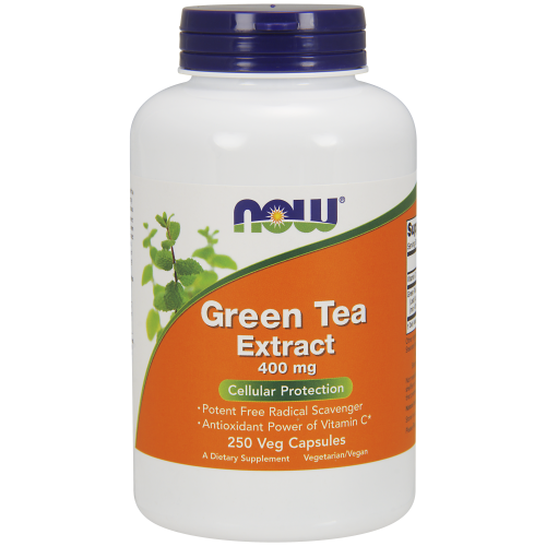 NOW FOODS -Green Tea Extract 400 mg - 250 Veg Capsules
