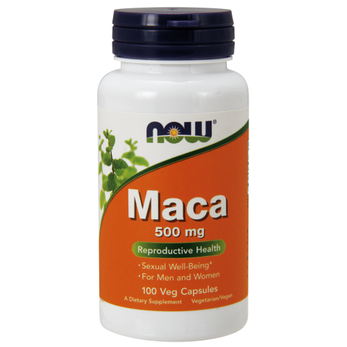 NOW FOODS -Maca 500 mg - 100 Veg Capsules