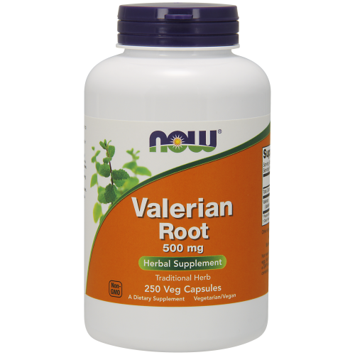 NOW FOODS -Valerian Root 500 mg - 250 Capsules
