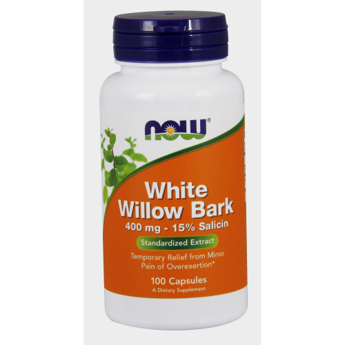 NOW FOODS -Willow Bark Extract 400 mg - 100 Capsules