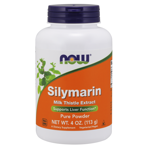 NOW FOODS -Silymarin Milk Thistle Extract Pure Powder - 4 oz.