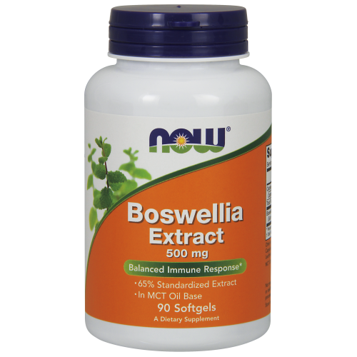 NOW FOODS -Boswellia Extract 500 mg - 90 Softgels