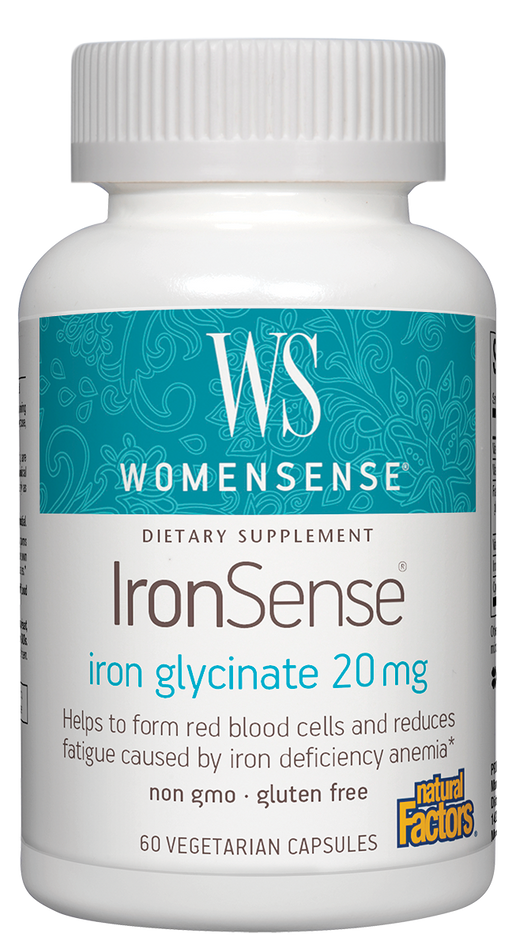 Natural Factors-IronSense™ 60 VCAP