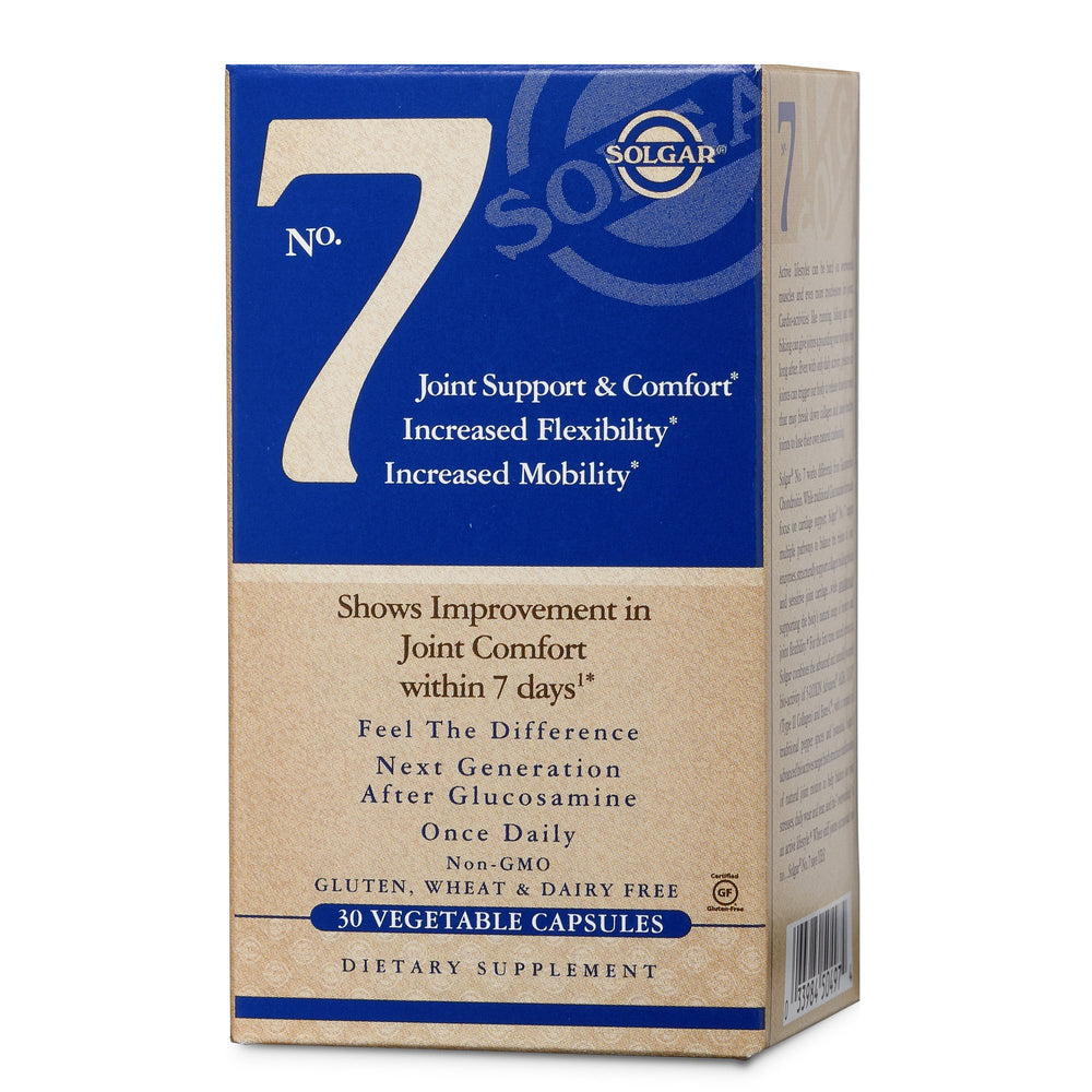 solgar solgar no 7 vegetable capsules 30
