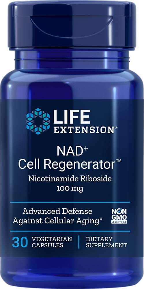 Life Extension - NAD+ Cell Regenerator Nicotinamide Riboside100 mg 30 Vcaps