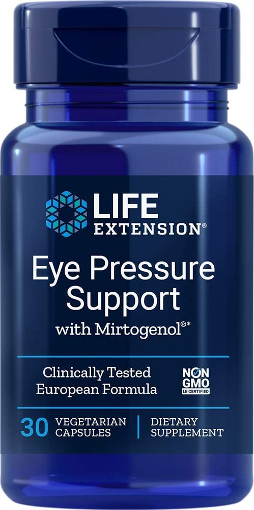 Life Extension - EYE PRESSURE SUPPORT /MIRTOGENOL®120 MG 30 Vcaps