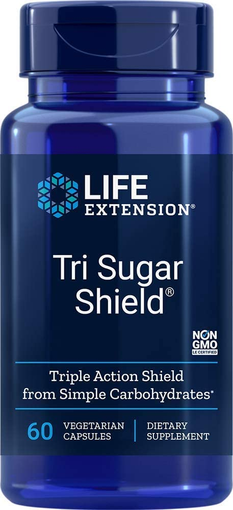 Life Extension - TRI SUGAR SHIELD 60 Vcaps