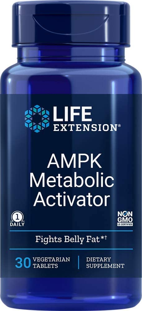 Life Extension - AMPK METABOLIC ACTIVATOR  30 VEGETARIAN TABLETS