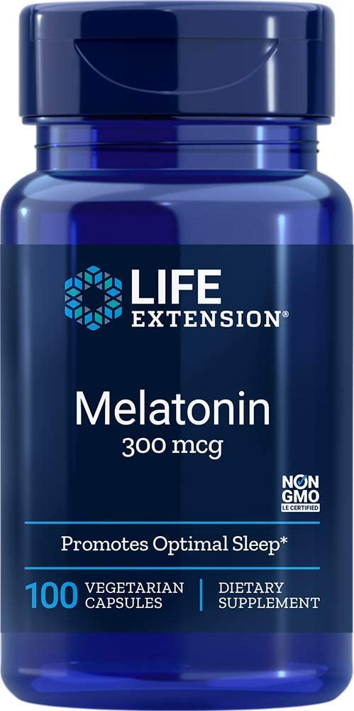 Life Extension - MELATONIN 300 MCG 100 Vcaps