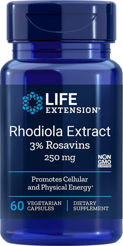 Life Extension - RHODIOLA EXTRACT 250 mg 60 Vcaps