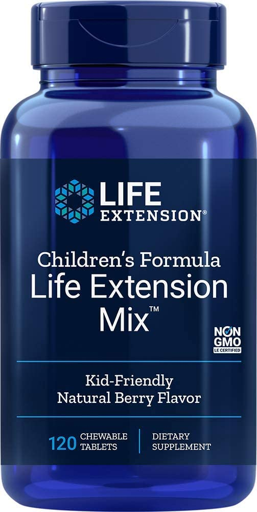 Life Extension - CHILDREN'S FORMULA LIFE EXTENSION MIX 120 CHEWABLE TABLETS
