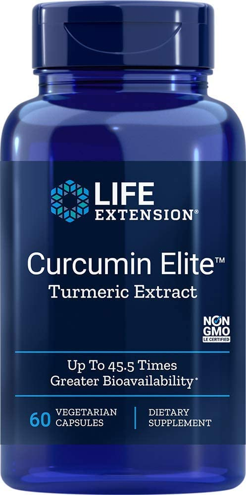 Life Extension - CURCUMIN ELITE TURMERIC EXTRACT60 Vcaps