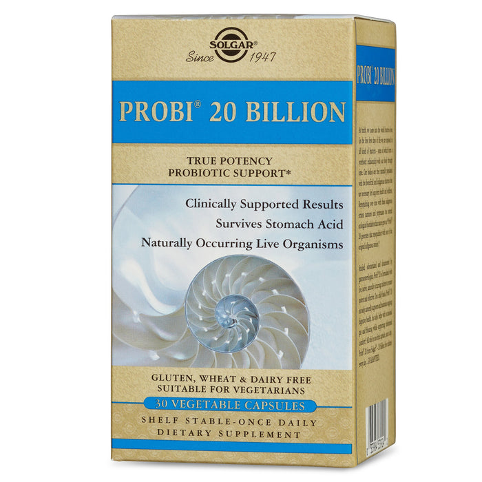 Solgar- Probi® 20 Billion Vegetable Capsules- 30