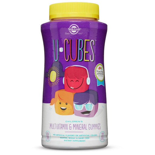 Solgar- U-Cubes™ Children's Calcium with D3 Gummies- 120