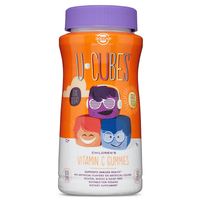 Solgar- U-Cubes™ Children's Vitamin C Gummies- 90
