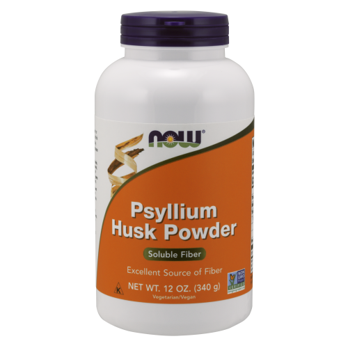 NOW FOODS -Psyllium Husk Powder Vegetarian - 12 oz.