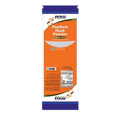 NOW FOODS -Psyllium Husk Powder - 24 oz.