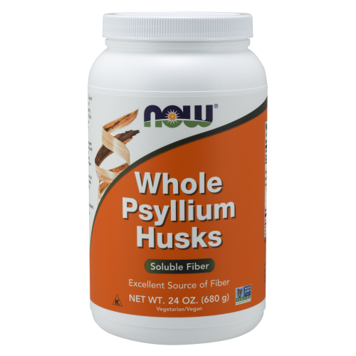 NOW FOODS -Psyllium Husks, Whole - 24 oz.