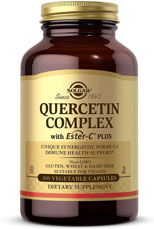 solgar quercetin complex with ester c plus vegetable capsules 100
