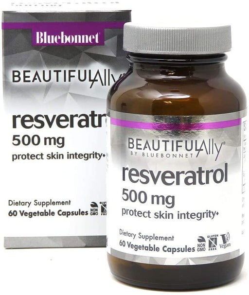 Blue Bonnet - BEAUTIFUL ALLY™ RESVERATROL 500 mg 60VC