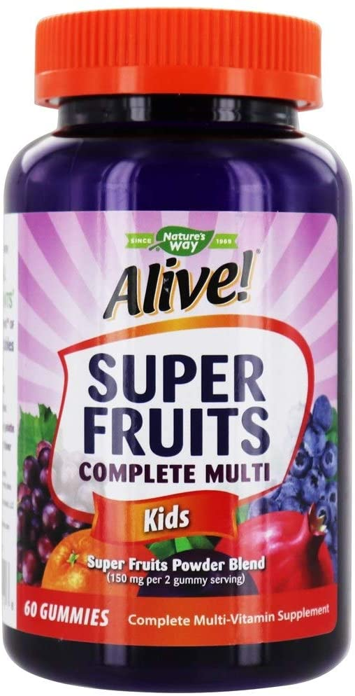 Nature's Way - Alive! Super Fruit Kids Gummy 60 ct